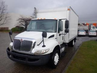 Used 2011 International 4300 16 Foot Cube Van Diesel With Hydraulic Brakes for sale in Burnaby, BC