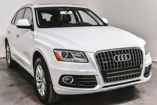 Used 2017 Audi Q5 PROGRESSIV QUATTRO CUIR TOIT SIEGES CHAUFFANTS A/C for sale in St-Hubert, QC