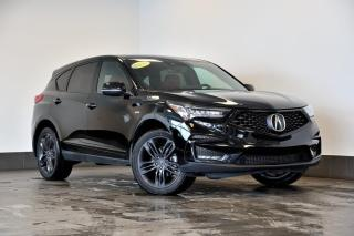 Used 2020 Acura RDX A-SPEC SH-AWD + CUIR ROUGE + GPS + TOIT PANO for sale in Ste-Julie, QC