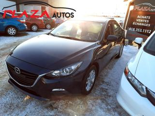 Used 2016 Mazda MAZDA3 4dr Sdn Man GX for sale in Beauport, QC