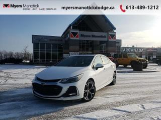 Used 2019 Chevrolet Cruze LT  RS Pkg-Apple CarPlay-Android Auto-Sunroof for sale in Ottawa, ON
