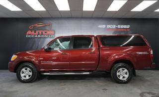 Used 2006 Toyota Tundra SR5 TRD OFF ROAD + V8 4.7L 4WD + DOUBLE CAB + LEER for sale in Lévis, QC