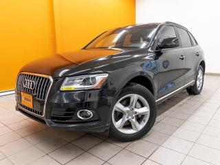 Used 2017 Audi Q5 2.0T QUATTRO **CUIR BRUN**TOIT PANO** for sale in St-Jérôme, QC