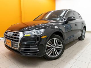 Used 2018 Audi Q5 PROGRESSIV S LINE QUATTRO NAV CUIR *TOIT PANO* for sale in St-Jérôme, QC