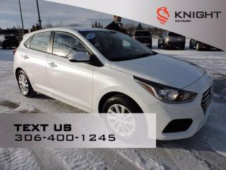 Used 2020 Hyundai Accent Preferred   B/U Camera   Power Liftgate   Heated Seats for sale in Weyburn, SK