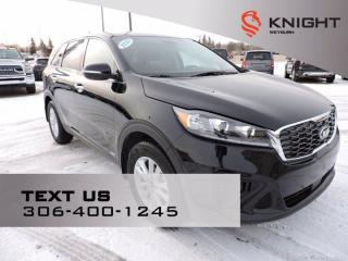 Used 2020 Kia Sorento LX   B/U Camera   Heated Seats/Steering Wheel   Rear AC/Heat   Safety Tech Pkg for sale in Weyburn, SK