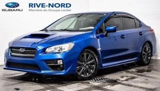 Used 2017 Subaru WRX MAGS+SIEGES.CHAUFFANTS+CAM.RECUL for sale in Boisbriand, QC