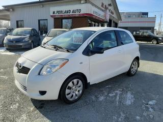 Used 2008 Toyota Yaris Hayon 3 portes, boîte manuelle, CE for sale in Sherbrooke, QC