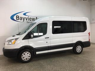 Used 2017 Ford Transit T-150 XLT - 8 PASSENGER! REVERSE CAM! PWR GROUP! + MORE! for sale in Belleville, ON