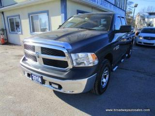Used 2018 Dodge Ram 1500 GREAT KM'S TRADESMEN EDITION 6 PASSENGER 5.7L - HEMI ENGINE.. 4X4 SYSTEM.. QUAD-CAB.. SHORT-BOX.. TOW SUPPORT.. AUX/USB INPUT.. KEYLESS ENTRY.. for sale in Bradford, ON