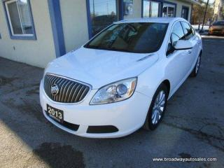 Used 2013 Buick Verano POWER EQUIPPED CX EDITION 5 PASSENGER 2.4L - ECO-TEC.. LEATHER TRIM.. CD/AUX/USB INPUT.. BLUETOOTH SYSTEM.. KEYLESS ENTRY.. for sale in Bradford, ON