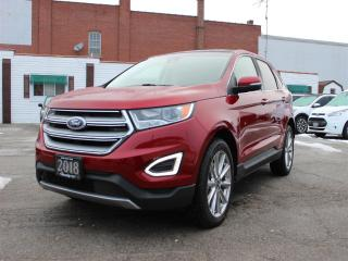 Used 2018 Ford Edge Titanium AWD for sale in Hagersville, ON