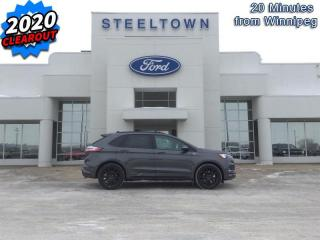New 2020 Ford Edge ST Line  - Activex Seats -  Heated Seats for sale in Selkirk, MB