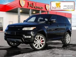 Used 2016 Land Rover Range Rover Sport V8 Supercharged The Ultimate Luxury, Balance of Factory Warranty for sale in Brandon, MB