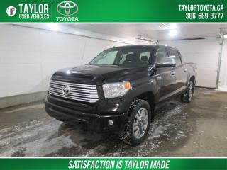 Used 2016 Toyota Tundra Platinum 5.7L V8 PLATINUM MODEL for sale in Regina, SK