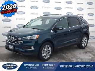 New 2020 Ford Edge Titanium - Navigation - $249 B/W for sale in Port Elgin, ON