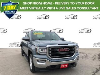 Used 2016 GMC Sierra 1500 SLE NICELY EQUIPPED TRUCK for sale in Grimsby, ON