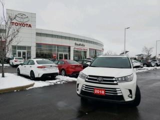 Used 2018 Toyota Highlander Limited AWD LIMITED - FOUR NEW TIRES - HEATED STEERING WHEEL for sale in Stouffville, ON