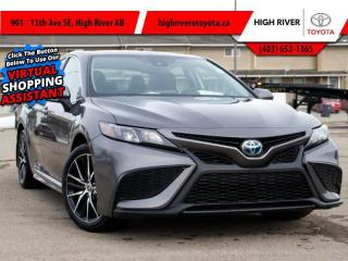 New 2021 Toyota Camry Hybrid SE    FWD for sale in High River, AB
