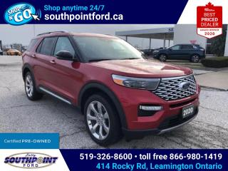 Used 2020 Ford Explorer Platinum 4WD|HEAT & COOL SEATS|NAV|PANO ROOF for sale in Leamington, ON