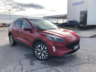 Used 2020 Ford Escape Titanium AWD Leather HTD&Cooled Seats Nav 2.99% for sale in Leamington, ON