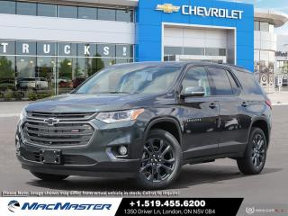 New 2021 Chevrolet Traverse V6 | NAVIGATION | AWD | SUNROOF | BOSE SPEAKERS | 7-PASSENGER | WI-FI HOT SPOT for sale in London, ON