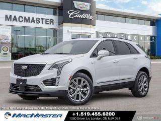 New 2021 Cadillac XT5 Sport V6 | AWD | REMOTE START | LEATHER SEATS | APPLE CARPLAY | BLIND SPOT SENSOR for sale in London, ON