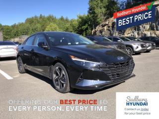 New 2021 Hyundai Elantra ULTIMATE W/BLACK SEATS for sale in Sudbury, ON