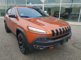 Used 2015 Jeep Cherokee Trailhawk FULLY LOADED, PANO SUNROOF, NAV! for sale in Ingersoll, ON