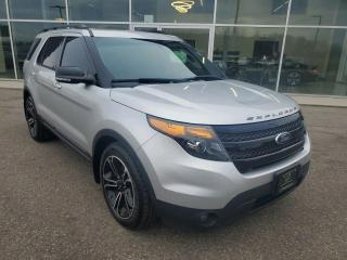 Used 2015 Ford Explorer Sport NEW BRAKES, 7 Seater, NAV, Heated Seats & Wheel, Pano Sunroof!!! for sale in Ingersoll, ON