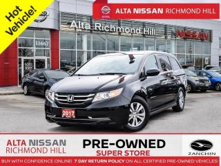 Used 2017 Honda Odyssey EX-L RES   Leathr   PWR Lftgate   Rear Entrtainmnt for sale in Richmond Hill, ON