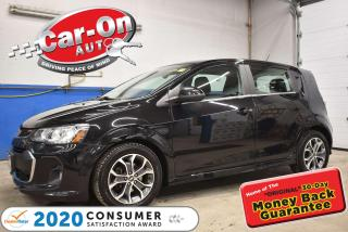 Used 2017 Chevrolet Sonic LT TURBO RS | SUNROOF | REMOTE STARTER for sale in Ottawa, ON