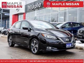 Used 2018 Nissan Leaf SL EV Fully Electric Navi Apple Carplay Propilot for sale in Maple, ON