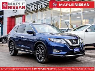 Used 2020 Nissan Rogue SL AWD Propilot Navi Blind Spot Apple Carplay for sale in Maple, ON
