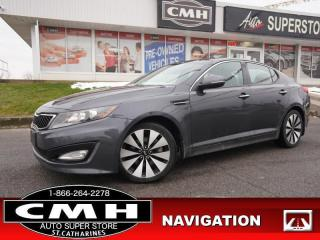 Used 2011 Kia Optima Turbo SX  NAV CAM ROOF CLD/HTD-SEATS 18-AL for sale in St. Catharines, ON