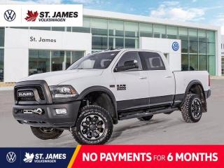 Used 2018 RAM 2500 Power Wagon, Clean Carfax, Lifted Suspension with Running Boards for sale in Winnipeg, MB