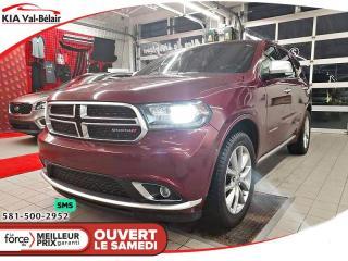 Used 2019 Dodge Durango *CITADEL*V8*AWD*CUIR*TOIT*GPS* for sale in Québec, QC