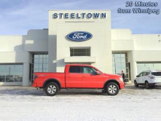 Used 2013 Ford F-150 FX4 CREW 4X4  - Bluetooth -  SiriusXM for sale in Selkirk, MB