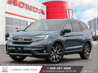New 2021 Honda Pilot Touring 7P REMOTE ENGINE STARTER | POWER TAILGATE | GPS NAVIGATION for sale in Cambridge, ON