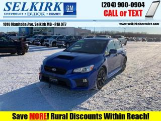 Used 2019 Subaru WRX Manual  *HEATED SEATS, BACK-UP CAM* for sale in Selkirk, MB