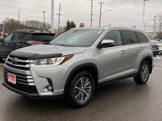 Used 2019 Toyota Highlander XLE-LEATHER+SUNROOF+MORE! for sale in Cobourg, ON