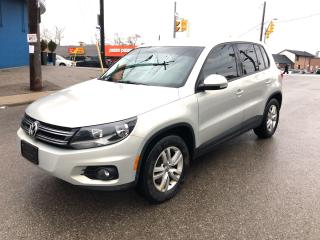 Used 2014 Volkswagen Tiguan Trendline/AWD/NOACCIDENT/BLUETOOTH/CERTIFIED for sale in Toronto, ON