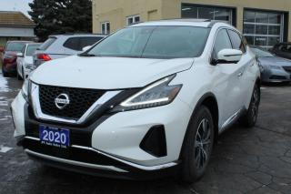 Used 2020 Nissan Murano SV AWD Pano Roof for sale in Brampton, ON