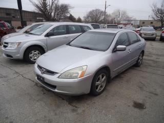 Used 2003 Honda Accord EX for sale in Sarnia, ON
