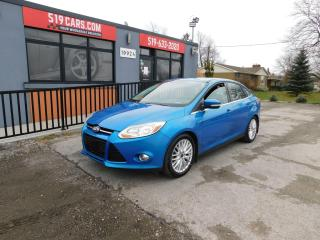 Used 2012 Ford Focus SEL|BLUETOOTH|MICROSOFT SYNC|2 SETS OF TIRES for sale in St. Thomas, ON