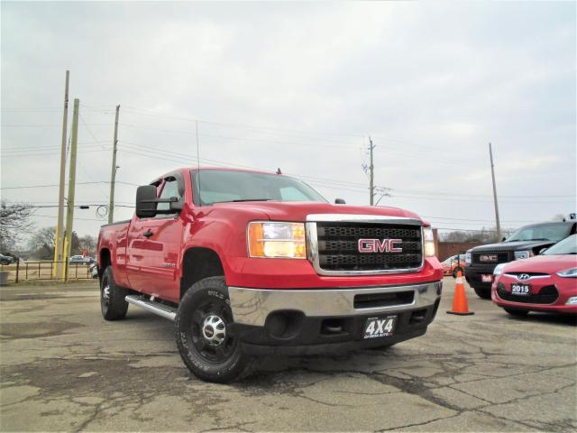 "2011 GMC Sierra 2500 4WD Ext Cab 143.5"" SAFETY 6 L GAS B-TOOTH 4 NEW BR"