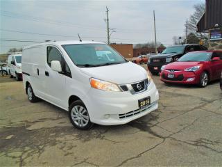 Used 2016 Nissan NV200 AUTO  SAFETY GAS SAVER CARGO VAN B-TOOTH SHILVES for sale in Oakville, ON