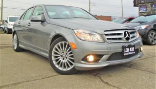 Used 2010 Mercedes-Benz C-Class 4dr Sdn C 250 4MATIC 1 OWNER LOW KM SAFETY SUNROOF for sale in Oakville, ON