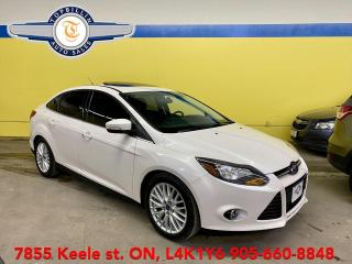 Used 2014 Ford Focus Titanium Navigation, Sunroof, Leather for sale in Vaughan, ON