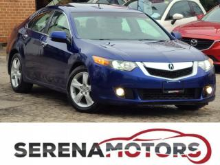 Used 2009 Acura TSX PREMIUM PKG | AUTO | ONE OWNER | NO ACCIDENTS for sale in Mississauga, ON
